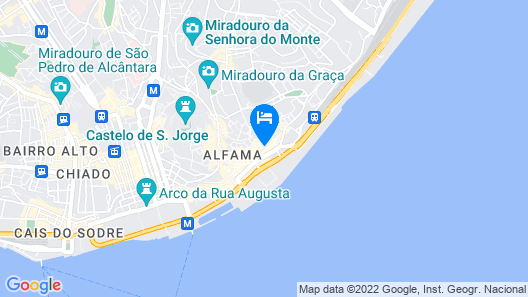 Modern Alfama Studio  Map
