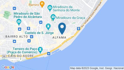 Hello Lisbon Alfama River Apartments Map