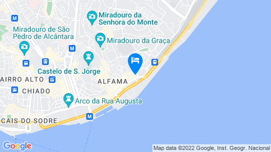 Xavier - Alfama River View by Team4You Map