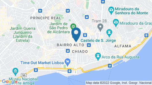 Almaria Ex Libris Chiado Map