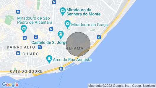 Jewel of Alfama Our l Map