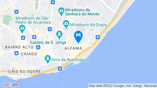 Alfama Modern Two-Bedroom Apartment w/ River View and Parking - by LU Holidays Map