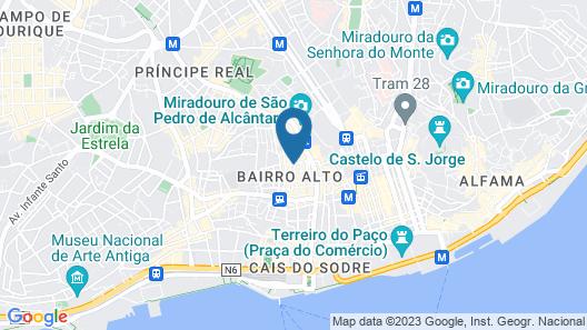 Lisbon Colours Map