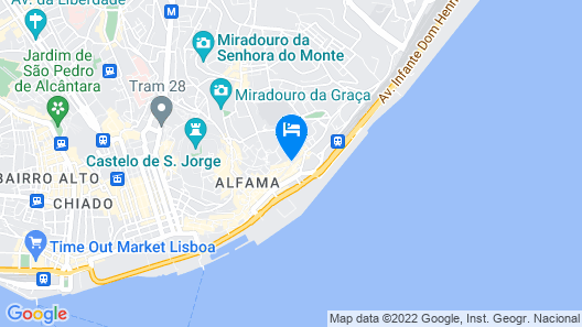 Tandem Palacio Alfama Map