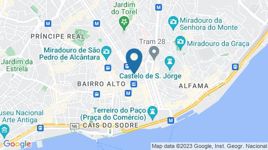 Hotel Metropole Map