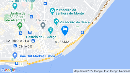 Alma Moura Residences Map