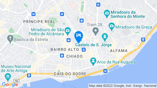 Rossio - Lisbon Cheese & Wine Apartments Map