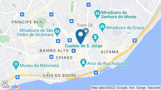 The Beautique Hotels Figueira Map