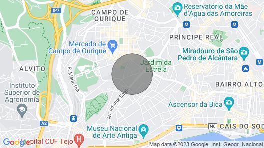 Garden è Estrela Apartment Map