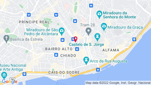 My Story Hotel Rossio Map