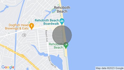 Beach Front Studio Condo Map
