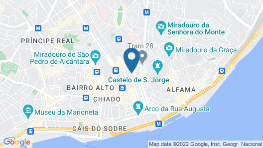 My Story Hotel Figueira Map