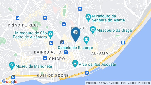 Hotel Portugal Map