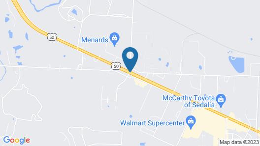 Holiday Inn Express & Suites Sedalia Map