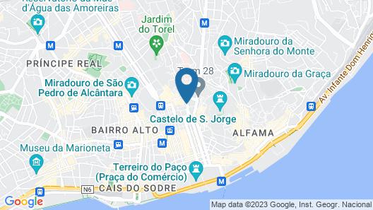 Tesouro da Baixa by Shiadu Map
