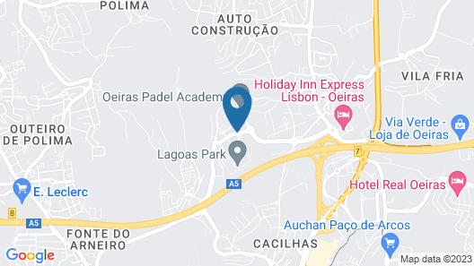 Lagoas Park Hotel Map