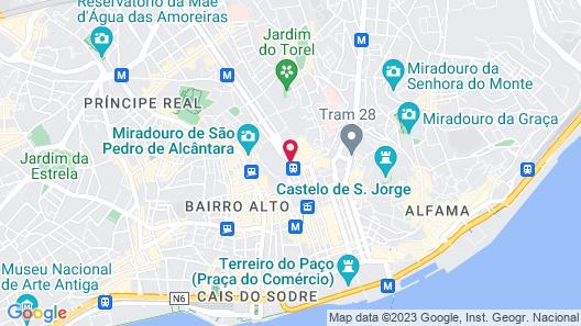 Avenida Palace Map