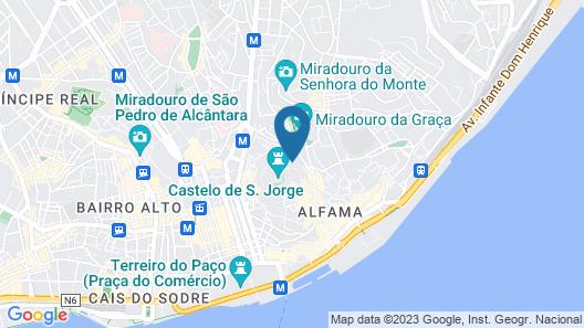 Olissippo Castelo Map