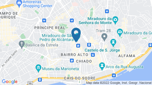 The Independente Hostel & Suites Map