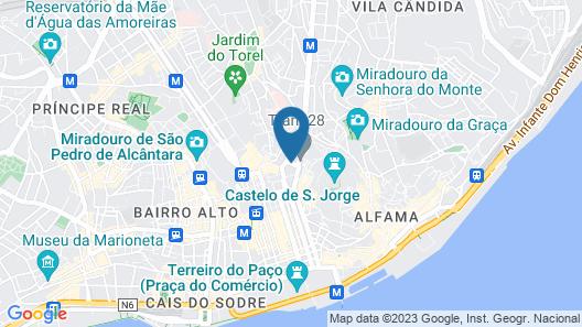 Hotel Mundial Map