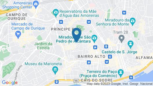 Casa do Jasmim by Shiadu Map