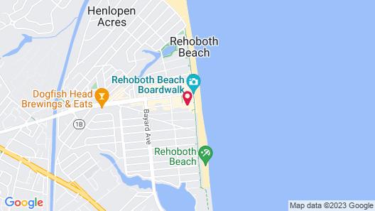 Beach View Hotel Map