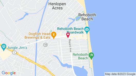 Oceanus Motel Map
