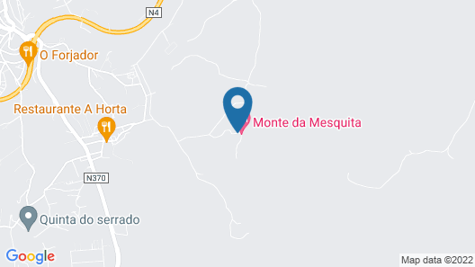 Monte da Mesquita Map