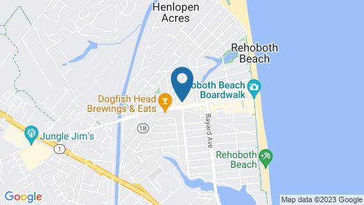 Hotel Rehoboth Map