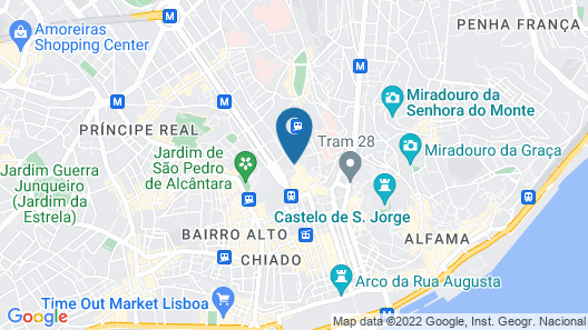 Lisbon Wine Hotel Map