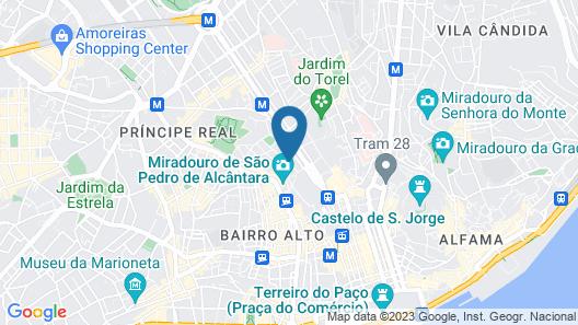 The Lisbonaire Apartments Map