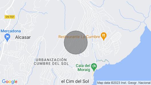 Villa Karina Map