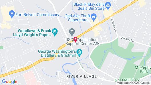 Stay APT Suites Alexandria-Fort Belvoir Map