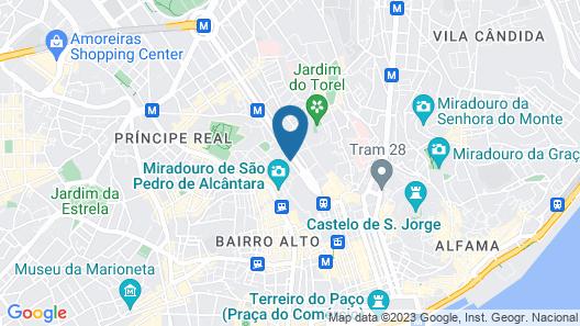 BessaHotel Liberdade Map