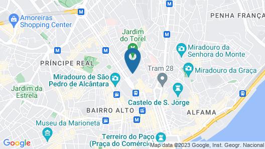 The One Palácio da Anunciada Map