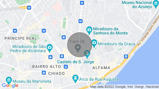 My House - Mouraria, Lisbon Downtown Map