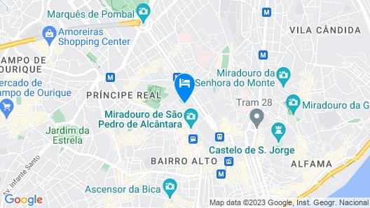 Alegria A Lisbon Boutique Hotel Map