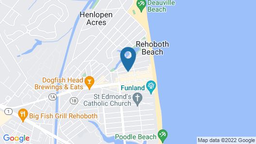 Rehoboth Guest House - Adults only Map