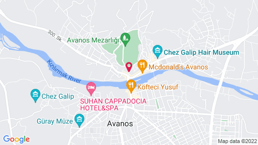 Sofa Hotel Map
