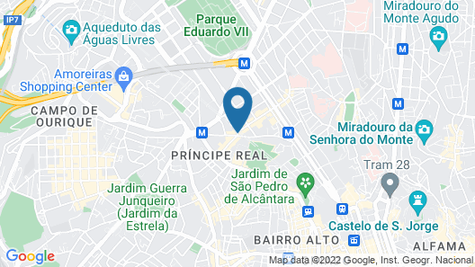 The Vintage Hotel & Spa - Lisbon Map