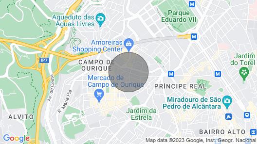 Campo de Ourique Charming Place Map