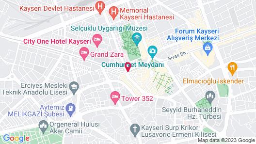 Rengarenk Otel & Restorant Map