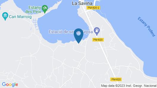 Hotel Lago Dorado - Formentera Break Map