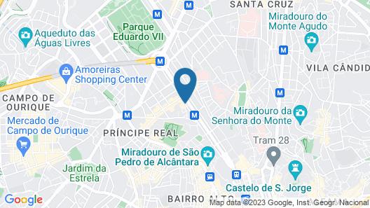 Tivoli Avenida Liberdade Lisboa – A Leading hotel of the world Map