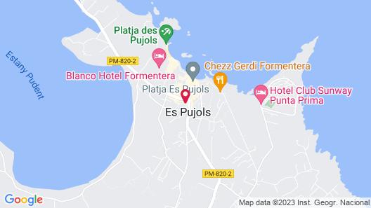 Apartamentos Timón Map