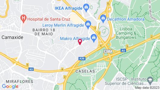 Holiday Inn Express Lisbon - Alfragide, an IHG Hotel Map