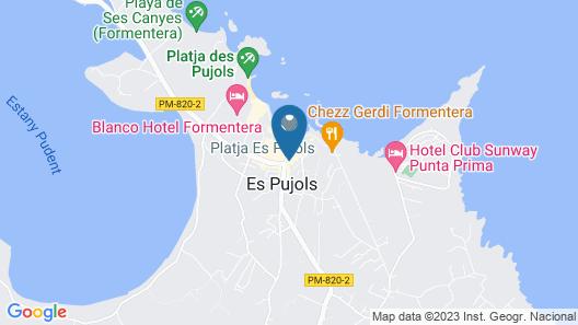 Complejo Lago Playa Map
