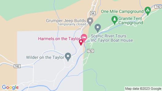 Harmel's Ranch Resort Map