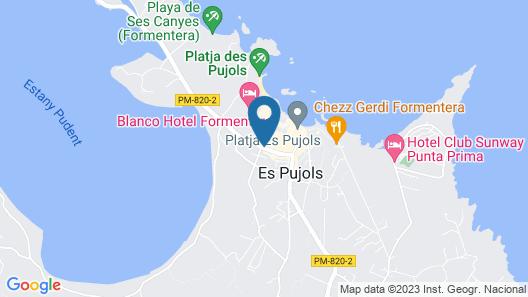 Apartamentos Castaví Map