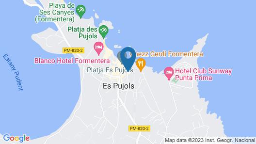 Pou Des Pujols Map